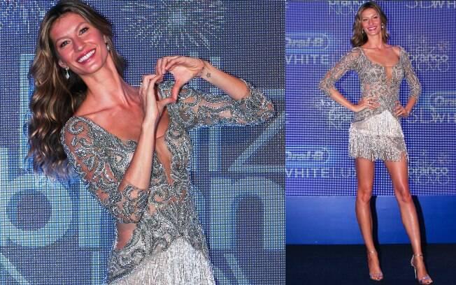 Supersexy, Gisele Bündchen foi uma das mais bem vestidas segundo opinião dos internautas