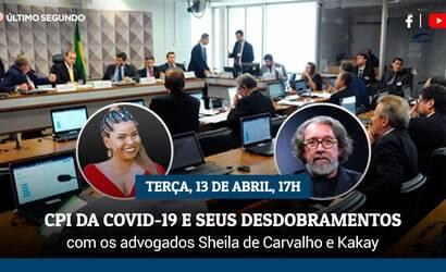 Kakay e Sheila de Carvalho debatem CPI da Covid