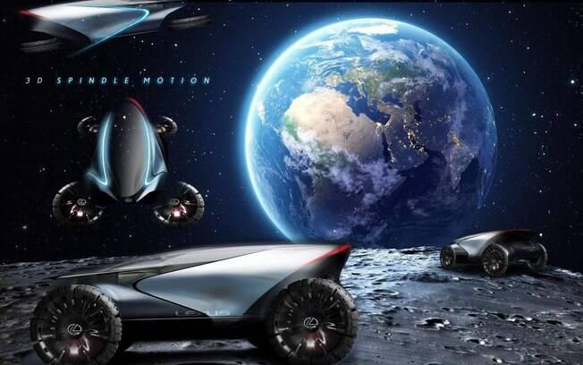 Com proposta para lá de futurista, moto voadora da Lexus é a síntese de toda a tecnologia que a marca possui