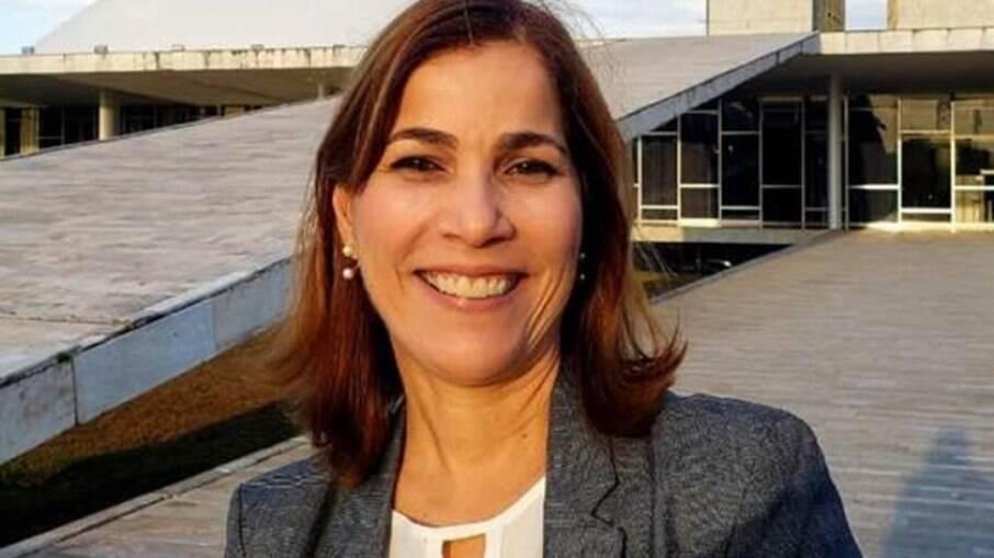 A secretária Mayra Pinheiro, conhecida como
