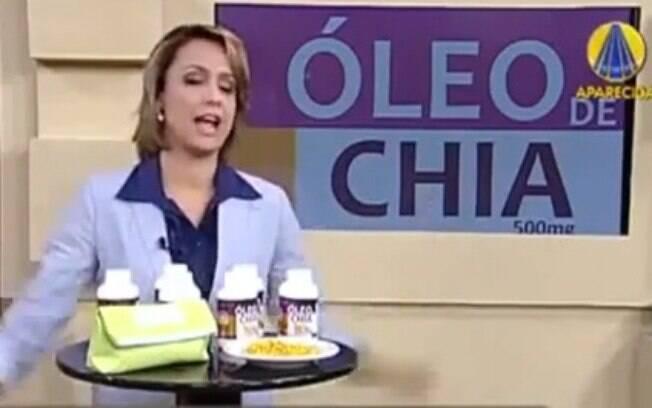 Apresentadora de merchandising fala palavrão em programa religioso da  TV  Aparecida . Foto  831b70e461