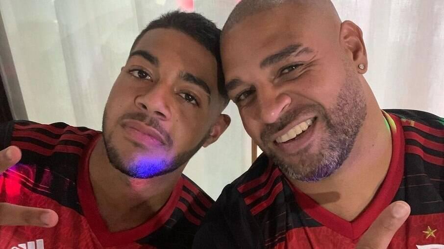 Thiago Ribeiro é irmão de Adriano
