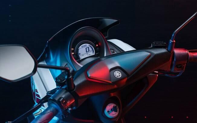 Yamaha NMax 160 Aliança Rebelde. Foto: Divulgação
