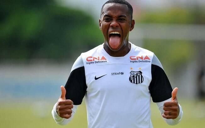 Robinho pode voltar ao Santos
