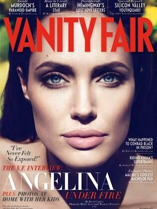 """Capa da """"Vanity Fair"""" de outubro"""