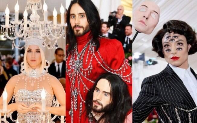 Katy Perry, Jared Leto e Ezra Miller aparecem extravagantes no MET Gala 2019