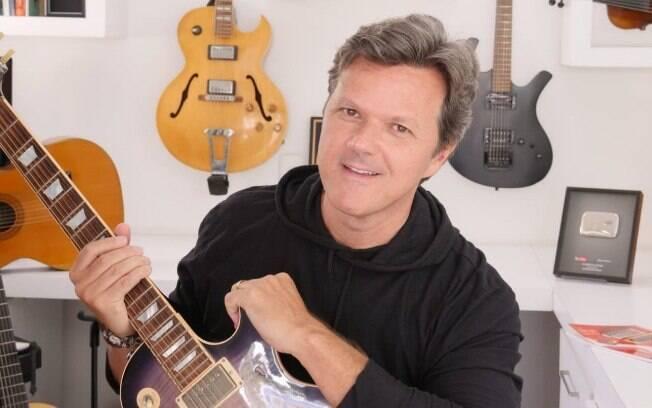 Heitor Castro, músico brasileiro que já gravou no estúdio Abbey Road, onde nomes como Beatles e Pink Floyd se consagraram