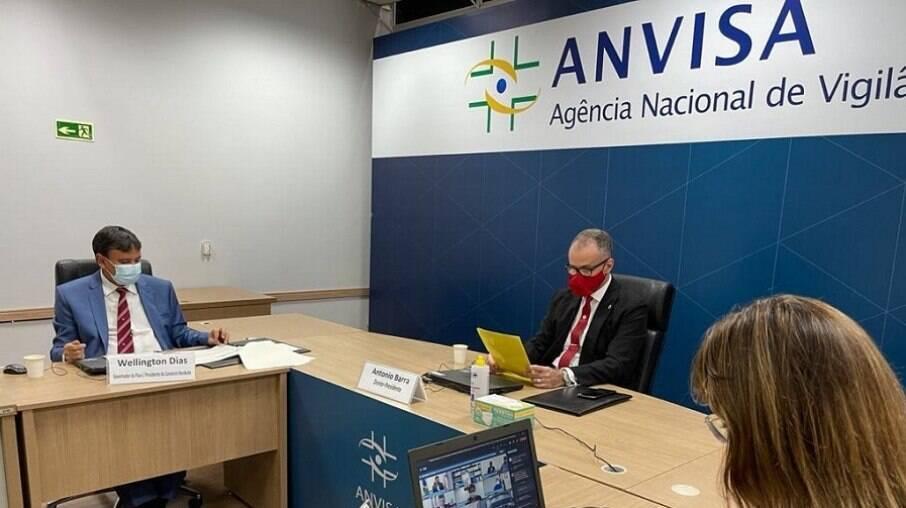 Reunião da Anvisa com governadores do Norte e Nordeste