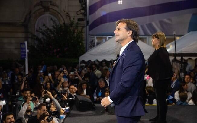 Lacalle Pou é o novo presidente do Uruguai.