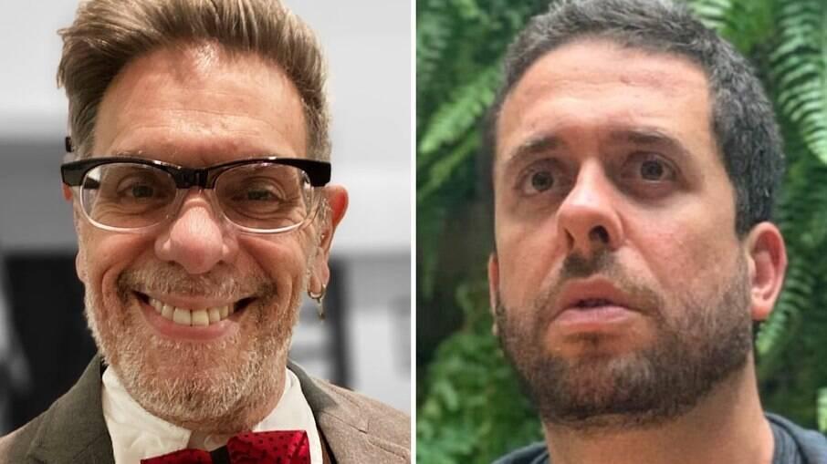 Roger, do Ultraje a Rigor, e Maurício Meirelles
