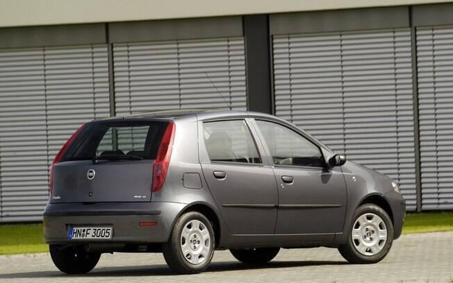 Fiat Punto (2ª  geração) também foi vendido na Europa com motor movido a GNV (Gás Natural Veícular)