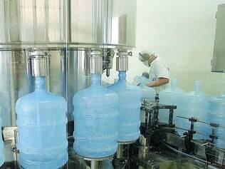 Produção. Minas Gerais detém atualmente 6,9% do mercado de produção de água mineral no Brasil