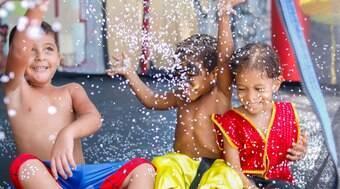 Carnaval anima crianças pelo Brasil; veja fotos