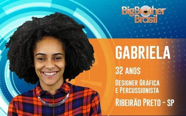 Gabriela, participante do