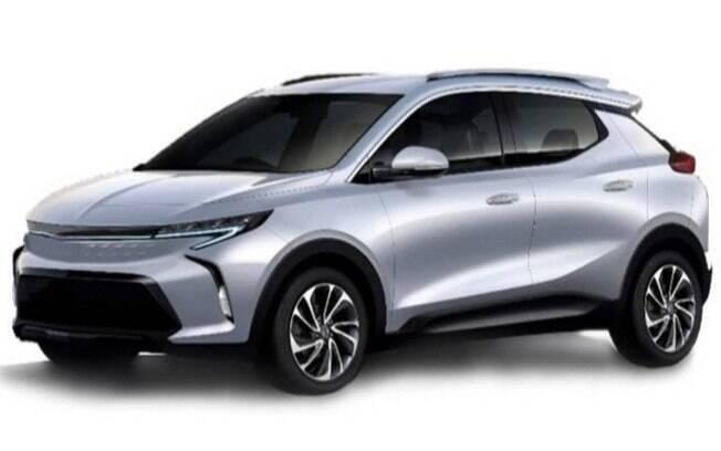 Projeção de imagem mostra como será o Bolt EUV, o novo SUV da linha de elétricos da marca norte-americana