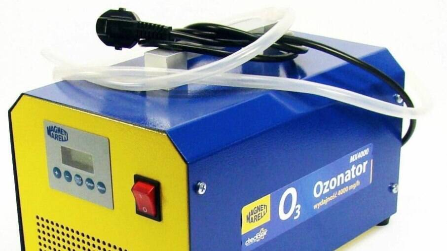 O Ozonator da Magneti Marelli é um equipamento que faz a higienização da cabine através do processo de oxisanitização.