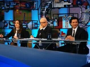 Monica Iozzi, Marcelo Tas e Marco Luque