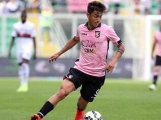 Com o Palermo, Dybala anotou 13 gols em 33 partidas nesta temporada