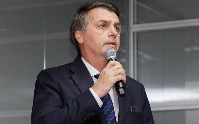 Jair Bolsonaro falou sobre a situação da economia brasileira