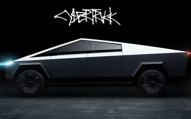 Tesla Cybertruck. Foto: Divulgação