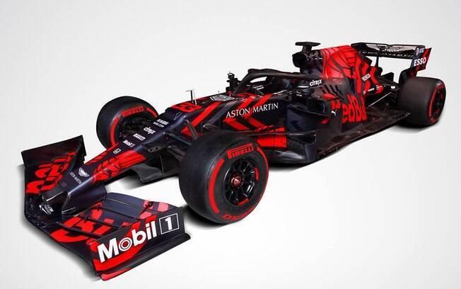 RB15, o novo carro da Red Bull Racing para temporada 2019 da Fórmula 1