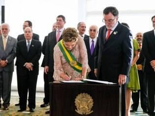Mineiro Patrus Ananias é empossado como novo ministro do Desenvolvimento Agrário