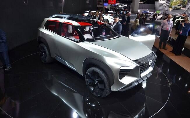 Nissan Xmotion foi apresentado no Salão de Detroit em 2018. Voltou a aparecer no Salão do Automóvel de SP