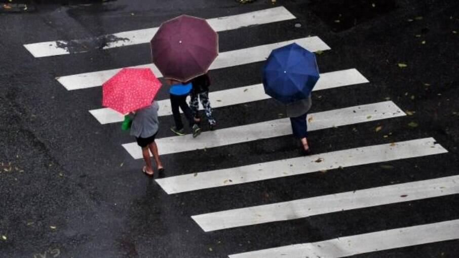 Algumas regiões do Brasil podem ter aumento no volume de chuvas