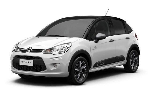 Citroën C3 Urban Trail: Ao citar a maior vantagem do seu exterior, destaca-se o friso lateral, que protege contra batidas