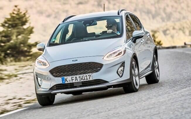 Ford Fiesta Active vendido atualmente na Europa deverá servir de inspiração para o novo compacto global da marca