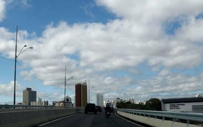 Sexta-feira será de sol entre nuvens e máxima de 29°C