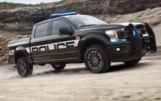 Ford F-150 Police Responder é preparada para perseguições policiais com uma série de mudanças técnicas