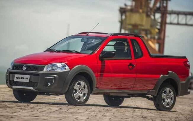 Fiat Strada Hardwork CE 1.4, mais voltada para o trabalho pesado, é um dos carros que mais desvalorizam
