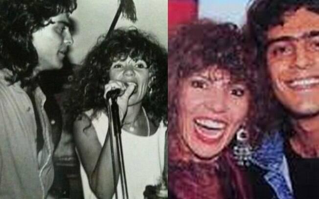Hoje ele namora Xuxa, mas nos anos 1980, Junno Andrade namorou a cantora Elba Ramalho