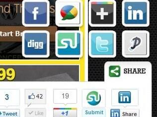 Slick Social Share facilita compartilhamento
