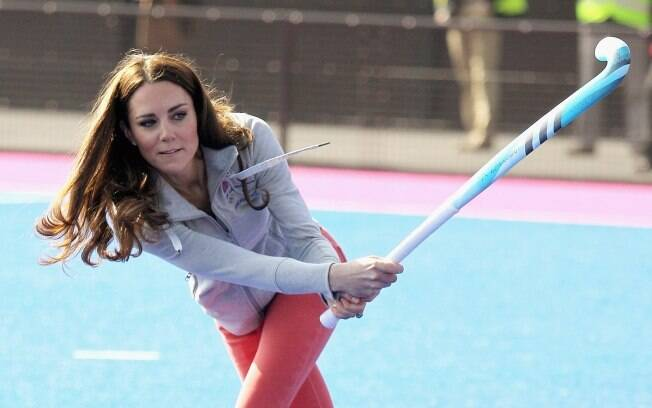 Kate Middleton visitou a Arena Riverside no Parque Olímpico de Londres