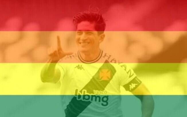 Germán fez a homenagem aos LGBTs