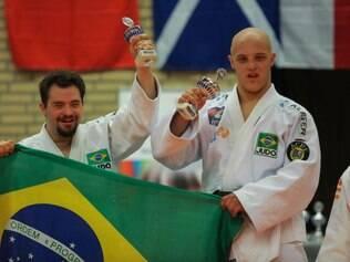 Orlando e Felipe ficaram com a prata e o ouro em evento na Holanda