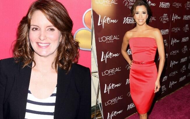 Tina Fey e Eva Longoria: as mais bem pagas da TV