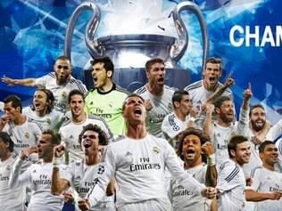 Real Madrid comemorou a sua décima conquista de Liga dos Campeões na história
