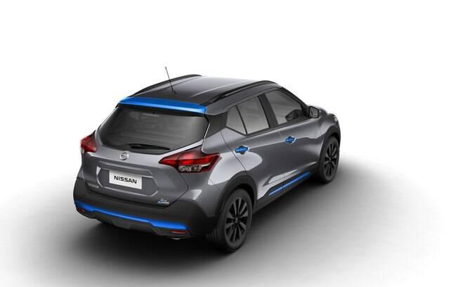 Além do sistema de som diferenciado, o Nissan Kicks que estará no Salão do Automóvel 2018 conta com pintura especial