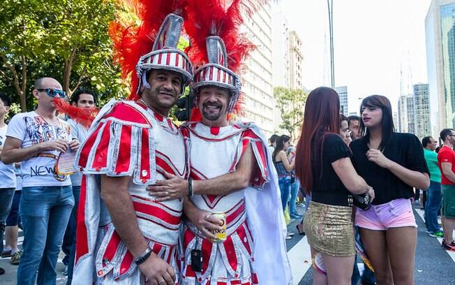 Os gladiadores da Parada Gay de São Paulo