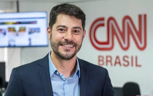 Evaristo Costa não faz sucesso na CNN Brasil e perde para GloboNews