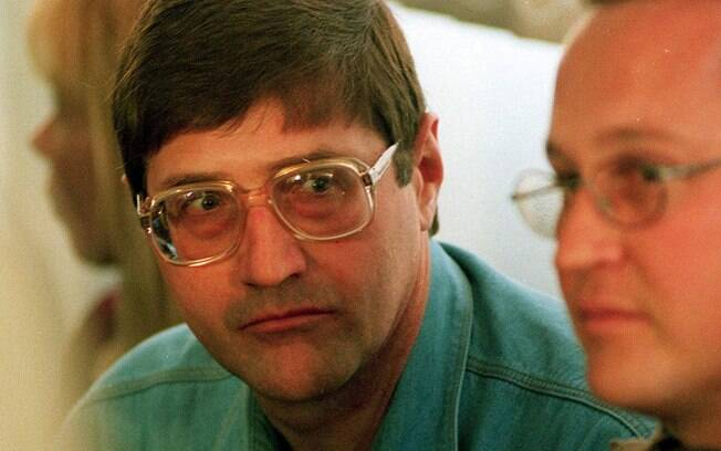 Eugene de Kock em foto tirada em setembro de 1998