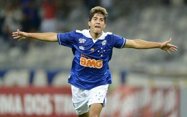 Lucas Silva, volante do Cruzeiro. Foto: Washington Alves/VIPCOMM