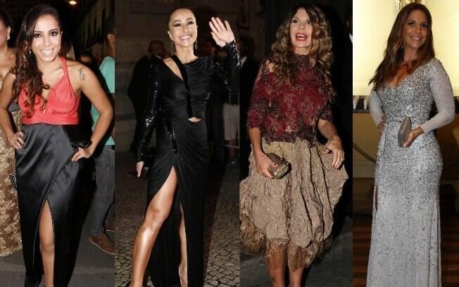 Algumas convidadas escorregaram na hora de escolher o look para o casamento de Preta Gil e Rodrigo Godoy