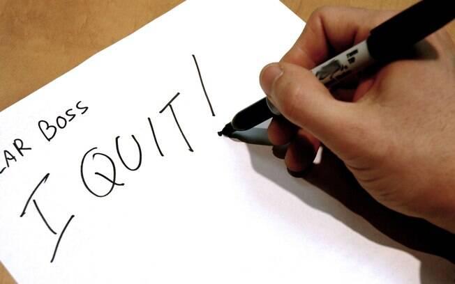 Há alguns motivos que são mais frequentes que outros na hora de pedir demissão