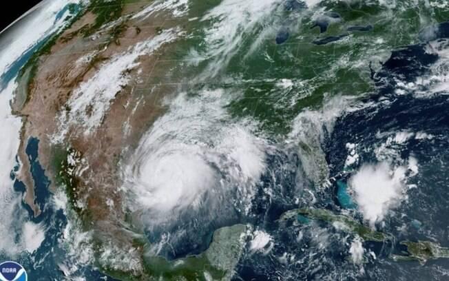 Furacão atingiu o Texas nesse fim de semana.