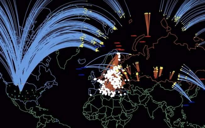 Simulação realizada no estudo mostra como seria uma guerra nuclear entre os países