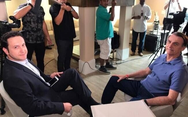 Entrevista com Bolsonaro na Record